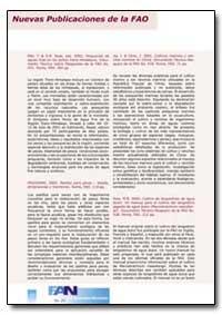 Nuevas Publicaciones de la Fao by Food and Agriculture Organization of the United Na...