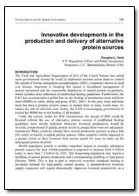 Innovative Developments in the Productio... by Hard, Douglas L.
