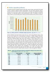 Trends in Aquaculture Production by Food and Agriculture Organization of the United Na...