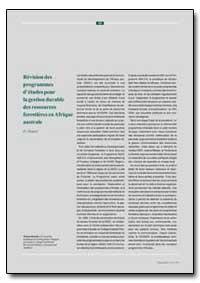 Revision Del Plan de Estudios para la Ge... by Hamid, O.