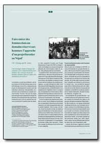 Incorporacion Del Genero en Un Dominio M... by Gurung, J. D.
