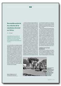 Reconsideracion de Los Criterios de la E... by Kiyiapi, J. L.