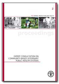 Expert Consultation on Community-Based V... by Food and Agriculture Organization of the United Na...