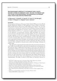 Multidisciplinary Approach to Veterinary... by Mantovani, A.