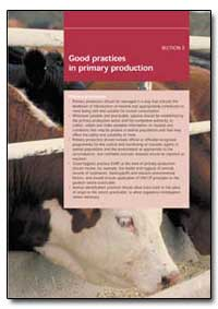 Good Practices in Primary Production by Food and Agriculture Organization of the United Na...