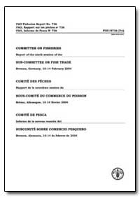 Committee on Fisheries Report of the Nin... by Food and Agriculture Organization of the United Na...