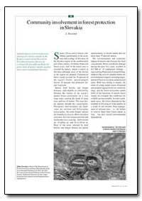 Community Involvement in Forest Protecti... by Novotny, J.