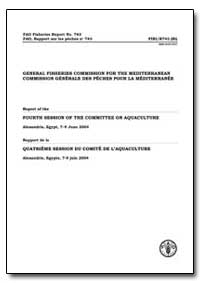 General Fisheries Commission for the Med... by Food and Agriculture Organization of the United Na...