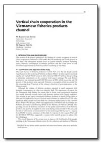 Vertical Chain Cooperation in the Vietna... by Van Anrooy, Raymon
