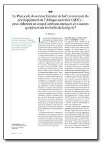 Puede el Protocolo Sobre Silviculture de... by Mubaiwa, L.