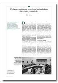 Enfoques Regionales Aproximar las Inicia... by Martin, R. M.