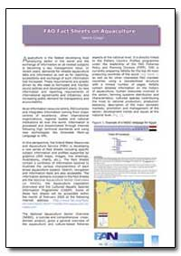 Fao Fact Sheets on Aquaculture by Food and Agriculture Organization of the United Na...