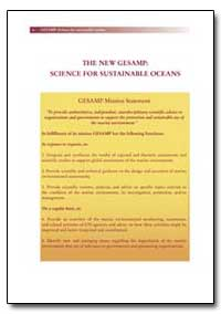 The New Gesamp: Science for Sustainable ... by Food and Agriculture Organization of the United Na...