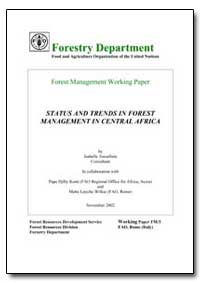 Status and Trends in Forest Management i... by Amsallem, Isabelle