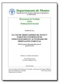El Uso de Ordenadores de Mano Y Paquetes... by Food and Agriculture Organization of the United Na...