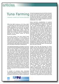 Tuna Farming by Lovatelli, Alessandro
