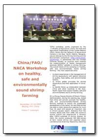 China/Fao/Naca Workshop on Healthy, Safe... by Food and Agriculture Organization of the United Na...
