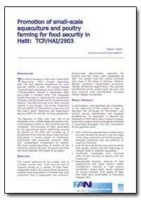 Promotion of Small-Scale Aquaculture and... by Crespi, Valerio