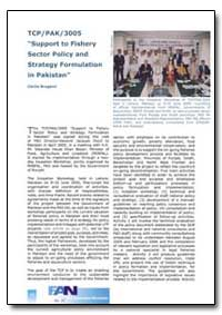 Tcp/Pak/3005 Support to Fishery Sector P... by Food and Agriculture Organization of the United Na...