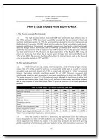 Part 3: Case Studies from South Africa by Food and Agriculture Organization of the United Na...