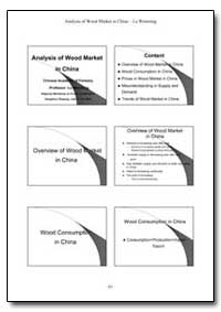 Analysis of Wood Market in China Lu Wenm... by Food and Agriculture Organization of the United Na...