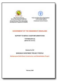 Volume II of Vi Bankable Investment Proj... by Food and Agriculture Organization of the United Na...