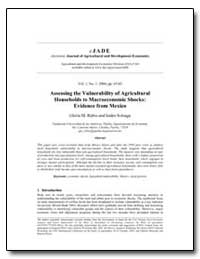 Assessing the Vulnerability of Agricultu... by Rubio, Gloria M.