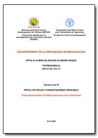 Volume II de Vi Profil de Projet Dinvest... by Food and Agriculture Organization of the United Na...