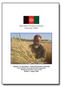 Ministry of Agriculture, Animal Husbandr... by Food and Agriculture Organization of the United Na...