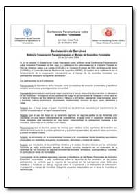 Declaracion de San Jose Sobre la Coopera... by Food and Agriculture Organization of the United Na...