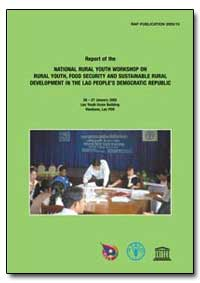 Report of the National Rural Youth Works... by Food and Agriculture Organization of the United Na...