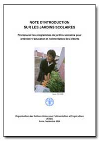 Note Dintroduction sur les Jardins Scola... by Food and Agriculture Organization of the United Na...