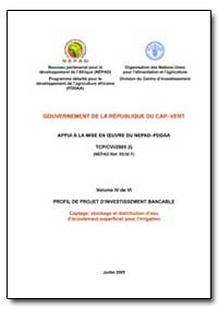 Volume IV de Vi Profil de Projet Dinvest... by Food and Agriculture Organization of the United Na...