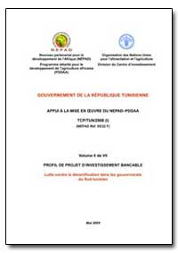 Volume II de VII Profil de Projet Dinves... by Food and Agriculture Organization of the United Na...