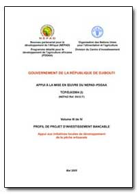 Volume III de IV Profil de Projet Dinves... by Food and Agriculture Organization of the United Na...