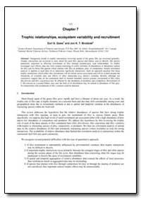Squid Recruitment Dynamics by Dawe, Earl G.