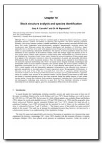 Stock Structure Analysis and Species Ide... by Carvalho, Gary R.