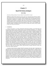 Chapter 11 Squid Life-History Strategies by Odor, R. K.