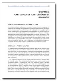 Chapitre V Plantes Pour le Foin Cereales... by Food and Agriculture Organization of the United Na...