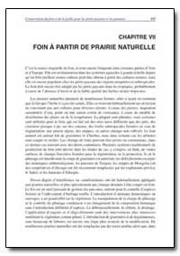 Chapitre Vii Foin a Partir de Prairie Na... by Food and Agriculture Organization of the United Na...