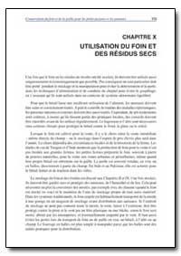 Chapitre X Utilisation du Foin et des Re... by Food and Agriculture Organization of the United Na...