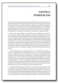 Chapitre XI Études de Cas by Food and Agriculture Organization of the United Na...