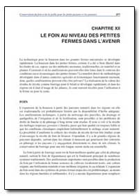 Chapitre Xii le Foin au Niveau des Petit... by Food and Agriculture Organization of the United Na...