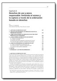 Capitulo 6 Derechos de Uso Y Pesca Respo... by Food and Agriculture Organization of the United Na...