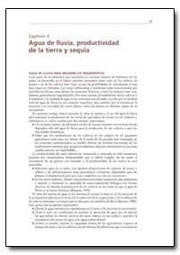 Agua de Lluvia, Productividad de la Tier... by Food and Agriculture Organization of the United Na...