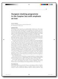 Sturgeon Stocking Programme in the Caspi... by Abdolhay, Hossein