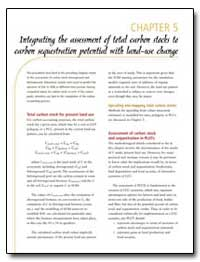 Integrating the Assessment of Total Carb... by Food and Agriculture Organization of the United Na...