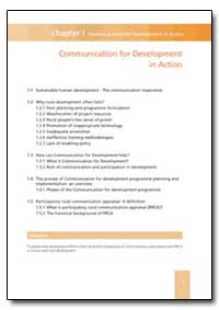 Communication for Development in Action by Food and Agriculture Organization of the United Na...