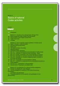 Basics of National Codex Activities by Food and Agriculture Organization of the United Na...