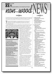Non Wood News: March 2005, Volume 12 by Non Wood News
